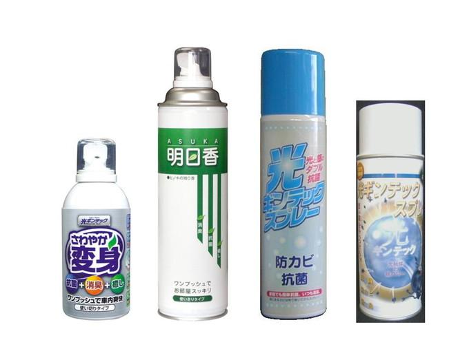 光触媒+銀のパワー(防かび・防臭・抗菌)